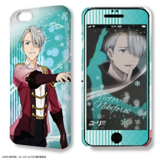 Yuri!!! on Ice: Deza-Jacket iPhone 6&6s Hülle & Protective Film Design 02 Victor Nikiforov