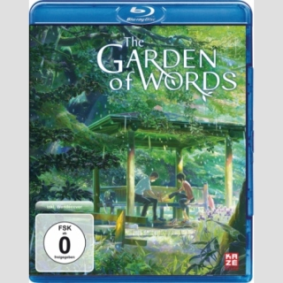 The Garden of Words Blu Ray