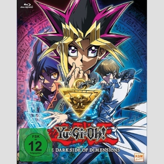 Yu-Gi-Oh! - The Darkside of Dimensions Blu Ray
