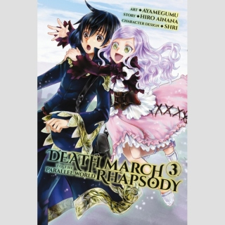 Death March to the Parallel World Rhapsody vol. 3 [Manga]