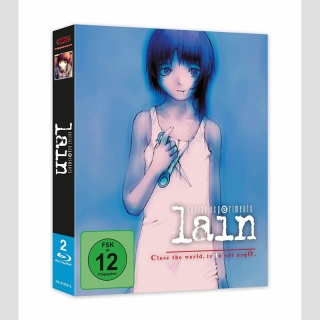 Serial Experiments Lain Blu Ray Collectors Edition