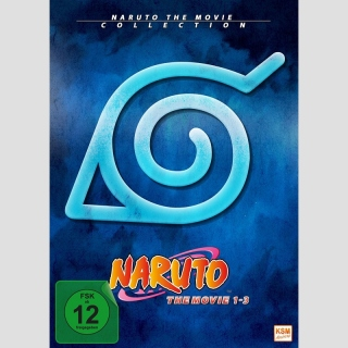 Naruto The Movie 1 - 3 DVD Collection