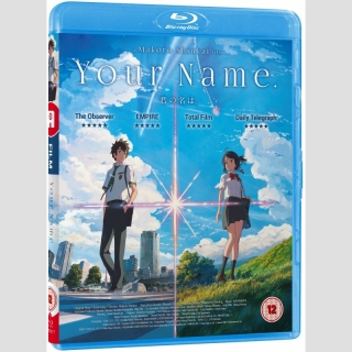 Your Name. Blu Ray