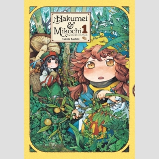 Hakumei and Mikochi - Tiny Little Life in the Woods vol. 1
