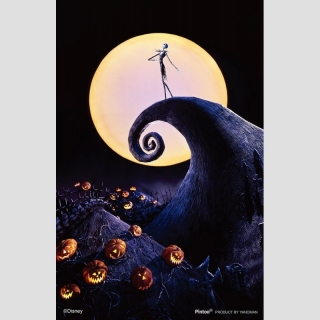 PUZZLE JAPAN IMPORT CLEART STAND Nightmare before Christmas (131 Teile)