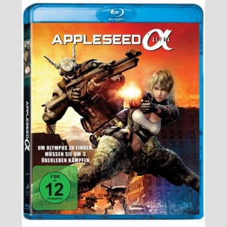 Appleseed Alpha Blu Ray