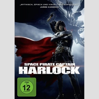 Space Pirate Captain Harlock DVD
