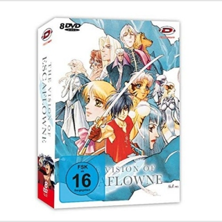 The Vision of Escaflowne DVD Gesamtausgabe