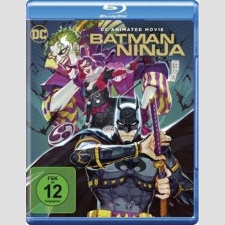 Batman Ninja Blu Ray