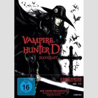 Vampire Hunter D: Bloodlust Blu Ray/DVD **Limited Collectors Edition**