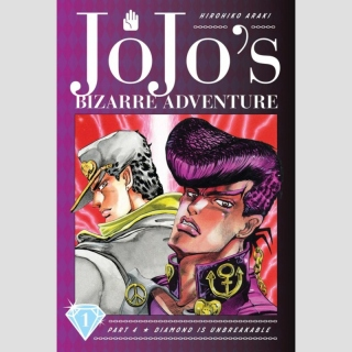JoJos Bizarre Adventure Part 4 - Diamond is Unbreakable vol. 1 (Hardcover)