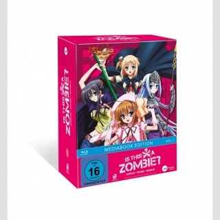 Is This A Zombie? Blu Ray vol. 1 mit Sammelschuber [Limited Media Book Edition]