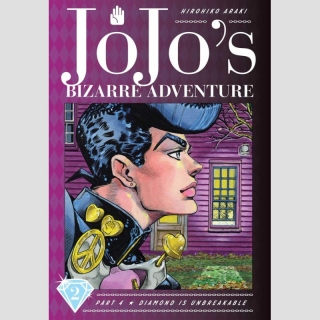 JoJos Bizarre Adventure Part 4 Diamond is Unbreakable vol. 2 (Hardcover)