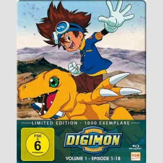 Digimon - Digital Monsters (1. Staffel) Blu Ray vol. 1