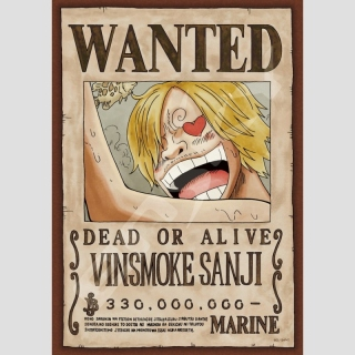 Puzzle One Piece Wanted -Vinsmoke Sanji-