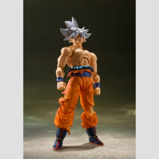 Dragon Ball Super S.H. Figuarts Actionfigur Son Goku Ultra Instinct 14 cm