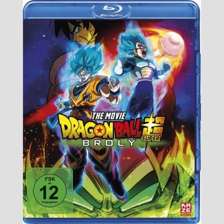 Dragon Ball Super: The Movie Broly Blu Ray