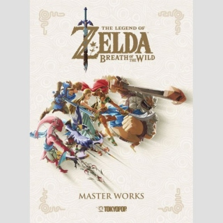 The Legend of Zelda: Breath of the Wild -Master Works- (Hardcover)