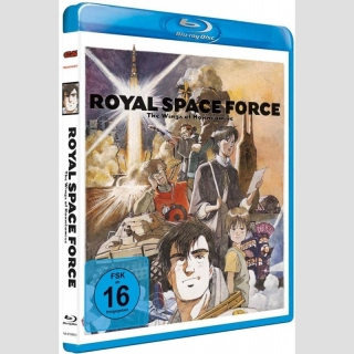 Royal Space Force - Wings of Honnêamise Blu Ray (Uncut Ver.)