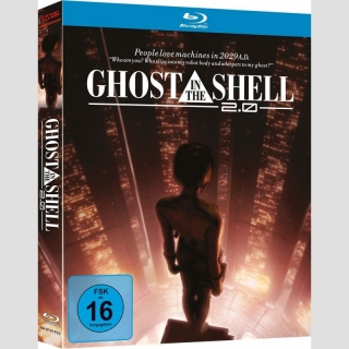 Ghost in the Shell 2.0 Blu Ray