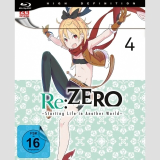 Re:Zero -Starting Life in Another World- Blu Ray vol. 4