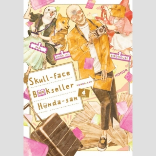 Skull-face Bookseller Honda-san vol. 4 (Final Volume)