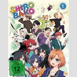 Shirobako Blu Ray Box 1
