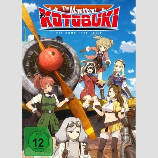 The Magnificent Kotobuki DVD Die komplette Serie