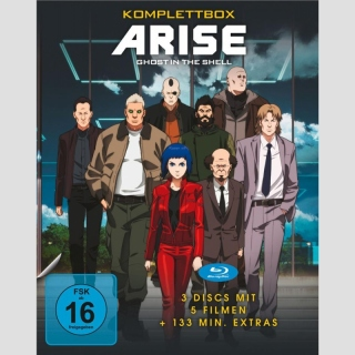 Ghost in the Shell ARISE Blu Ray Komplettbox