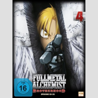 Fullmetal Alchemist Brotherhood DVD vol. 4