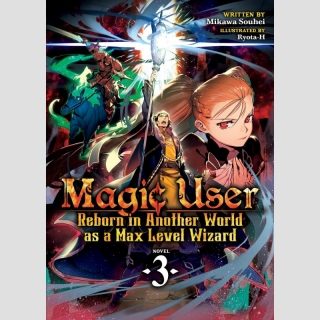 Magic User: Reborn in Another World as a Max Level Wizard vol. 3 [Light Novel]