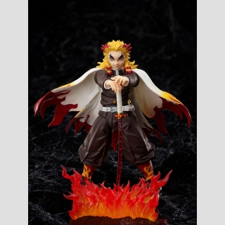 Demon Slayer: Kimetsu no Yaiba The Movie: Mugen Train Actionfigur 1/12 Kyojuro Rengoku 15 cm