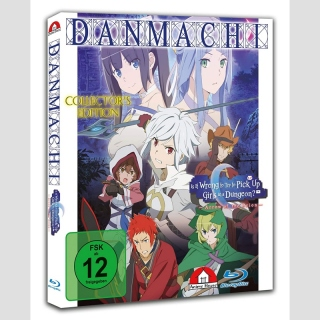 DanMachi - Is It Wrong to Try to Pick Up Girls in a Dungeon? Der Film: Arrow of the Orion [Blu Ray] ++Collectors Edition++