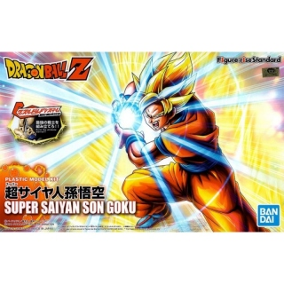 BANDAI FIGURE-RISE STANDARD PLASTIC MODEL KIT Super Saiyan 2 Son Goku (Dragon Ball Z)