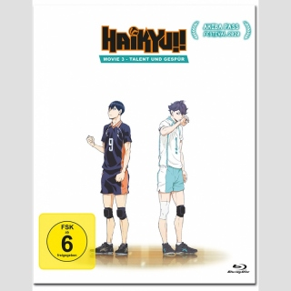 Haikyu!! Movie 3: Talent und Gespür [Blu Ray]