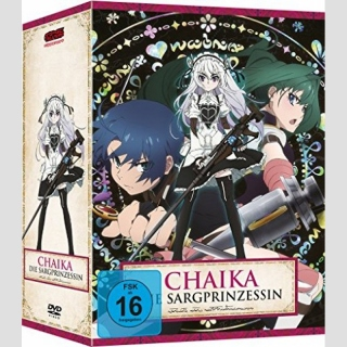 Chaika - Die Sargprinzessin 1. Staffel DVD vol. 1 inkl. Sammelschuber **Limited Edition**