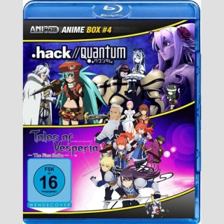 Animaze Anime Blu Ray Box 4: .hack//Quantum / Tales of Vesperia