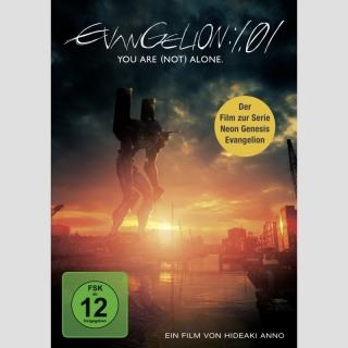 Neon Genesis Evangelion 1.01 - You Are (Not) Alone DVD